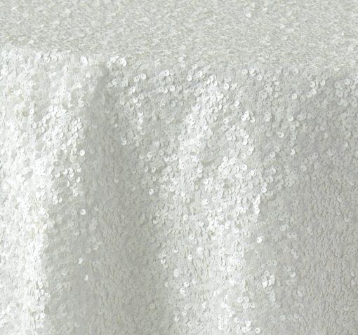 White Sequin Taffeta 1