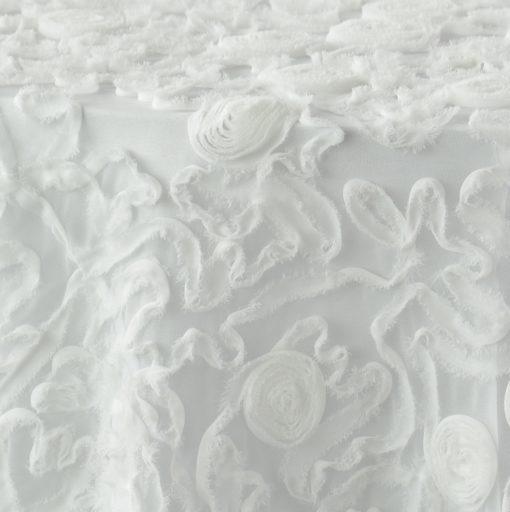 White Tulle Rosettes 1 (underlay 1)