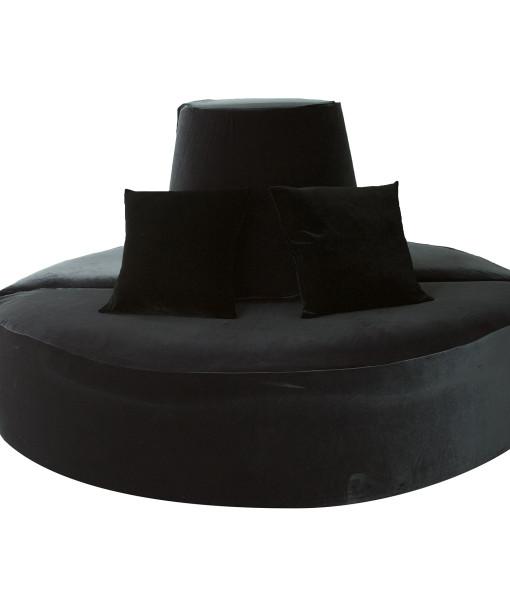 Black Velvet Doughnut