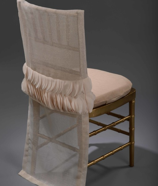 Blush Petals Band Chair Back