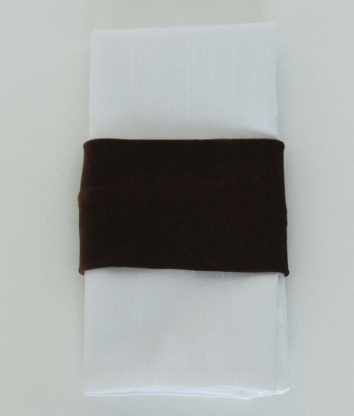 Brown Velvet - Napkin Band