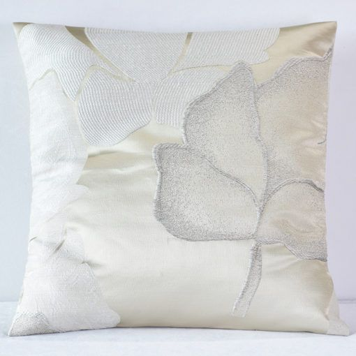 Champagne Gardenia Pillow