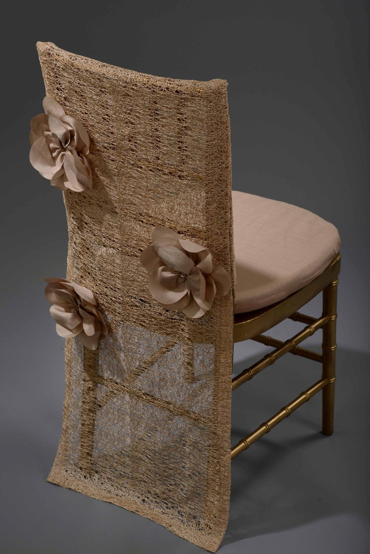 Champagne Heather Chair Back Preston Bailey Collection Nüage
