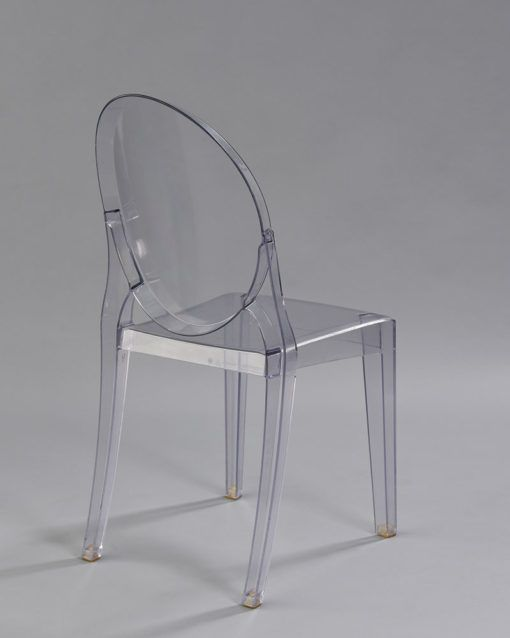 Clear Mirage Chair 2