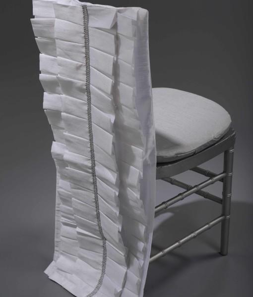 white Lori chair back