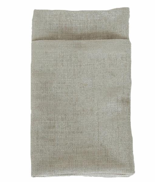 Flax Metallic  Burlap Lined webNapkin