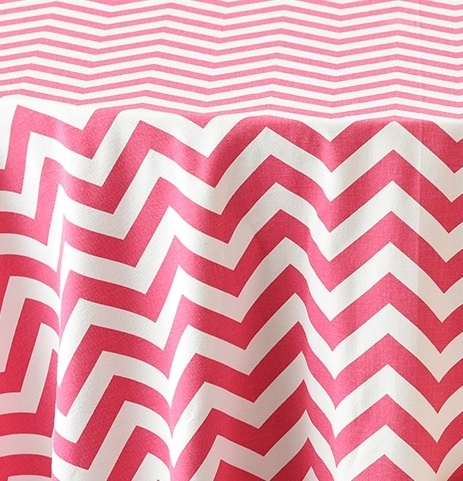 Hot Pink Chevron 1