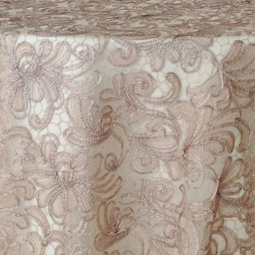 taupe victorian lace