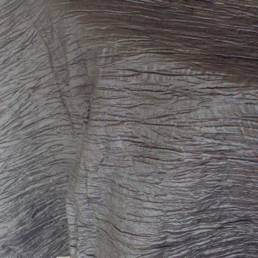 heather grey crinkled