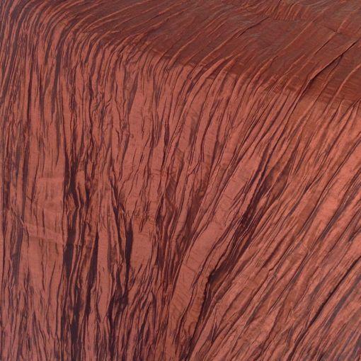copper crinkled
