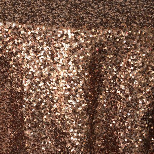 copper sequin taffeta