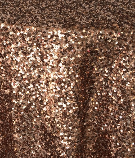 copper sequin taffeta