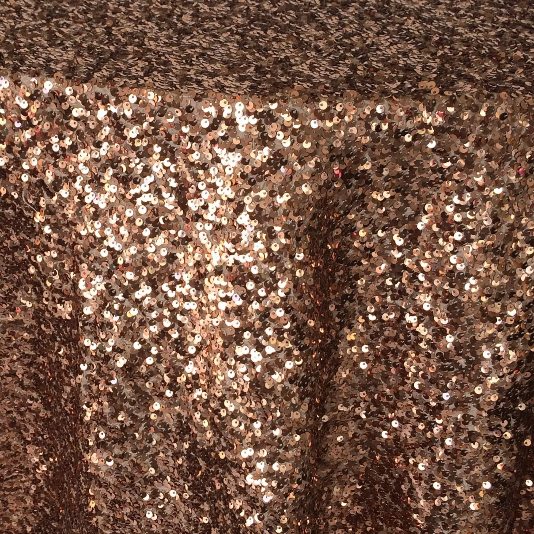 Copper Sequin Taffeta N 252 Age Designs