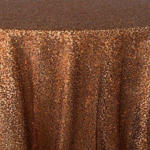 copper sequin mesh