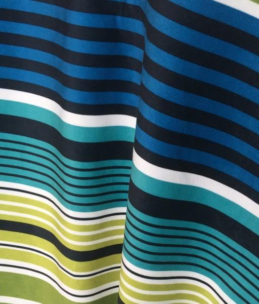 multicolor stripe suede