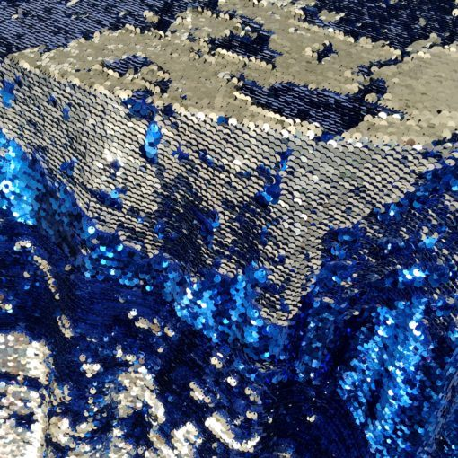blue silver koi