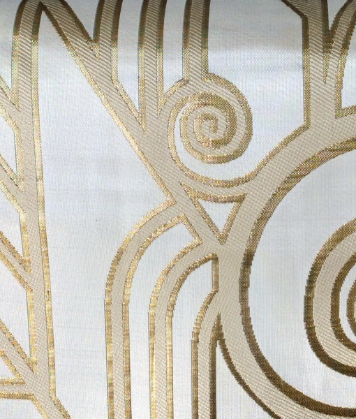 white and gold deco