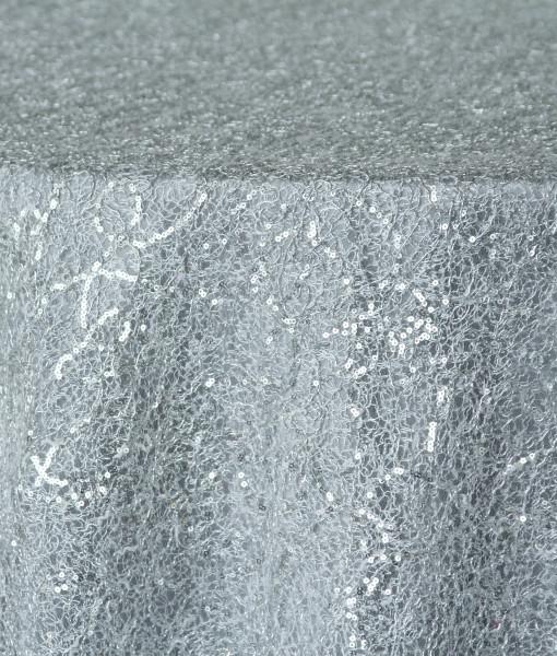 silver sequin chain