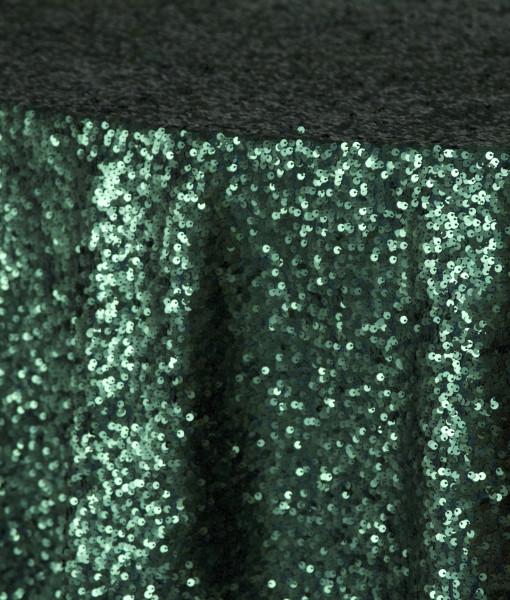emerald sequin taffeta