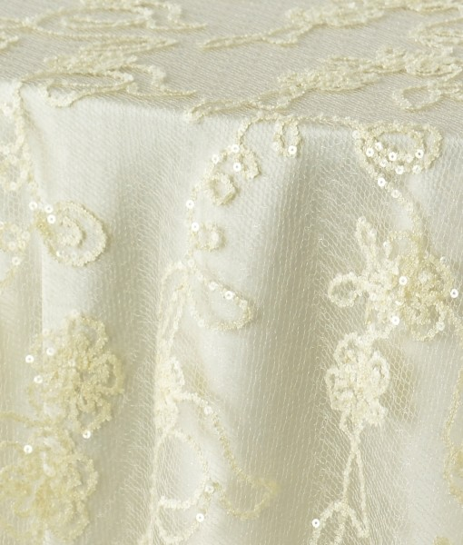 Ivory French Lace 1