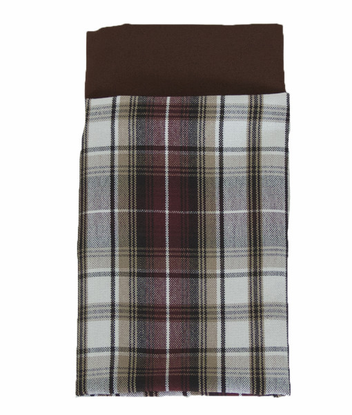 Khaki, Wine & Blacl Plaid Napkin  web