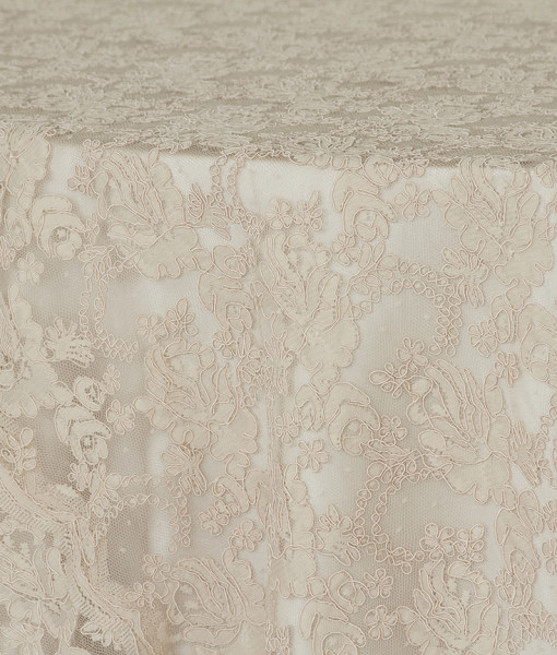 New Taupe Victorian Lace 3