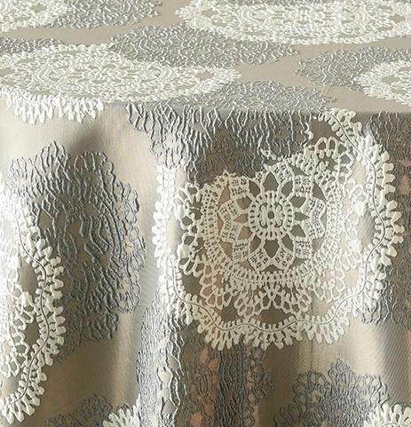Silver Big Lace 1