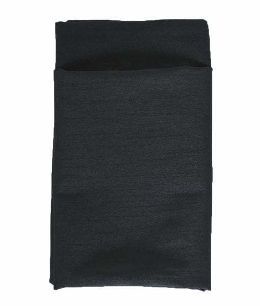 Ultra Black Faux Dupioni Lined Napkin web