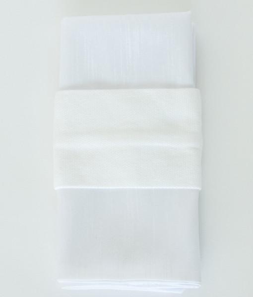 White Cotton - Napkin band