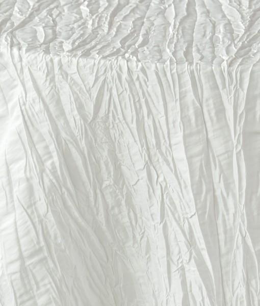 White Crinkled Taffeta 1
