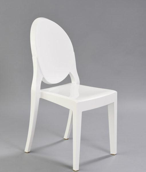 White Mirage Chair 1