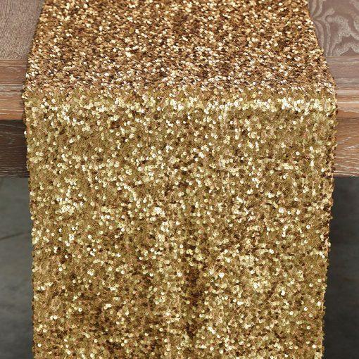 dark-gold-sequin-taffeta-runner