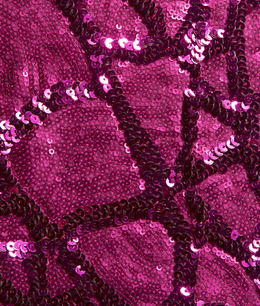 nu raspberry sequin pattern