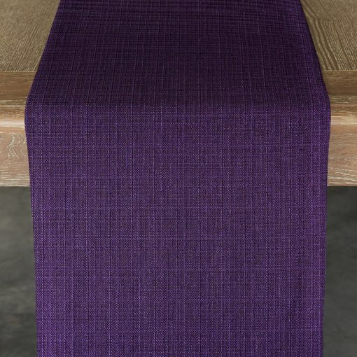 purple-oxford-table-runner