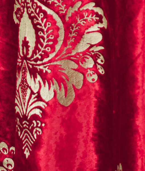red damask velvet nuage designs studiowed