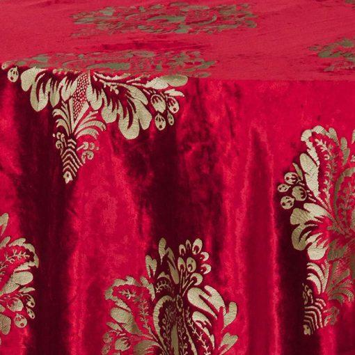 red-damask-velvet-linen