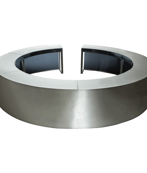 round mirrored bar web