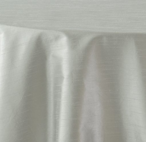 silver metallic faux dupioni 1