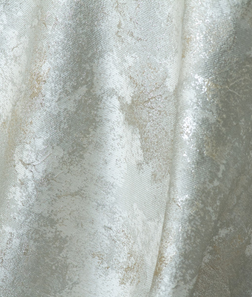 silver metallic forest