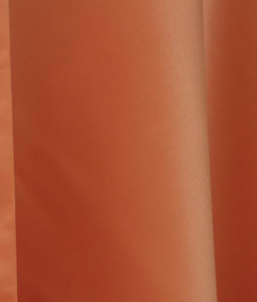 ultra pumpkin matte satin