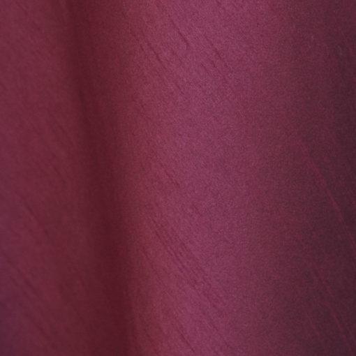 ultra ruby faux dupioni