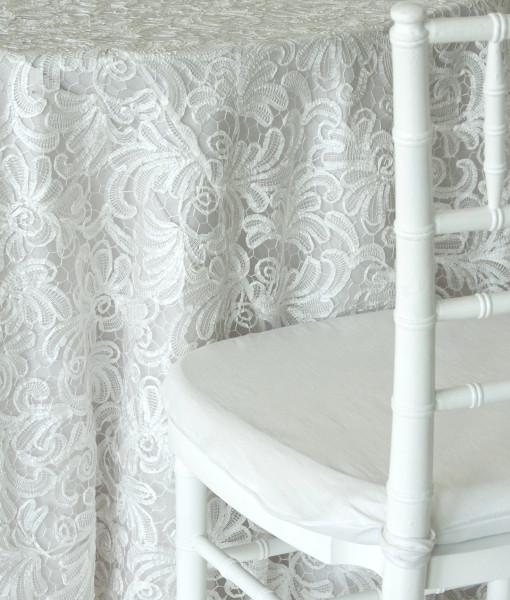 white victorian lace