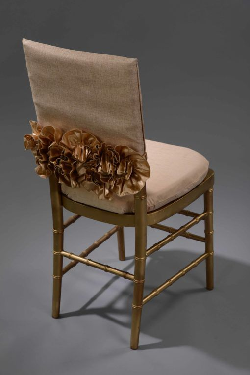 Sofia Gold Chair Cap