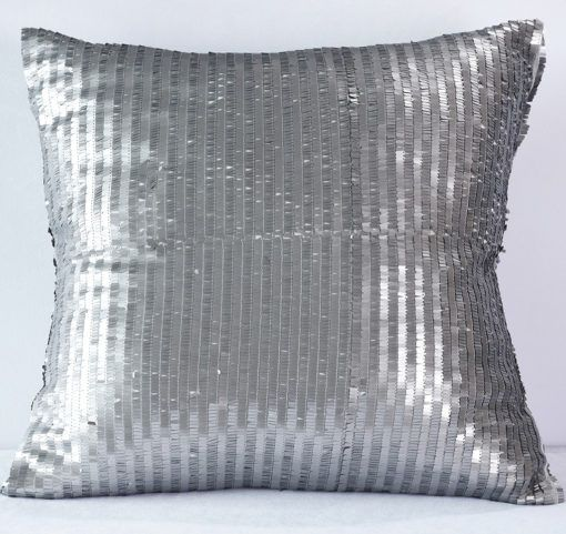 Charcoal Allummettes Pillow