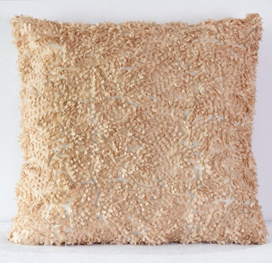 Champagne Heather Pillow