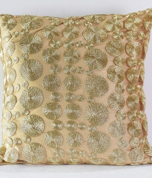 Gold Coin Pillow