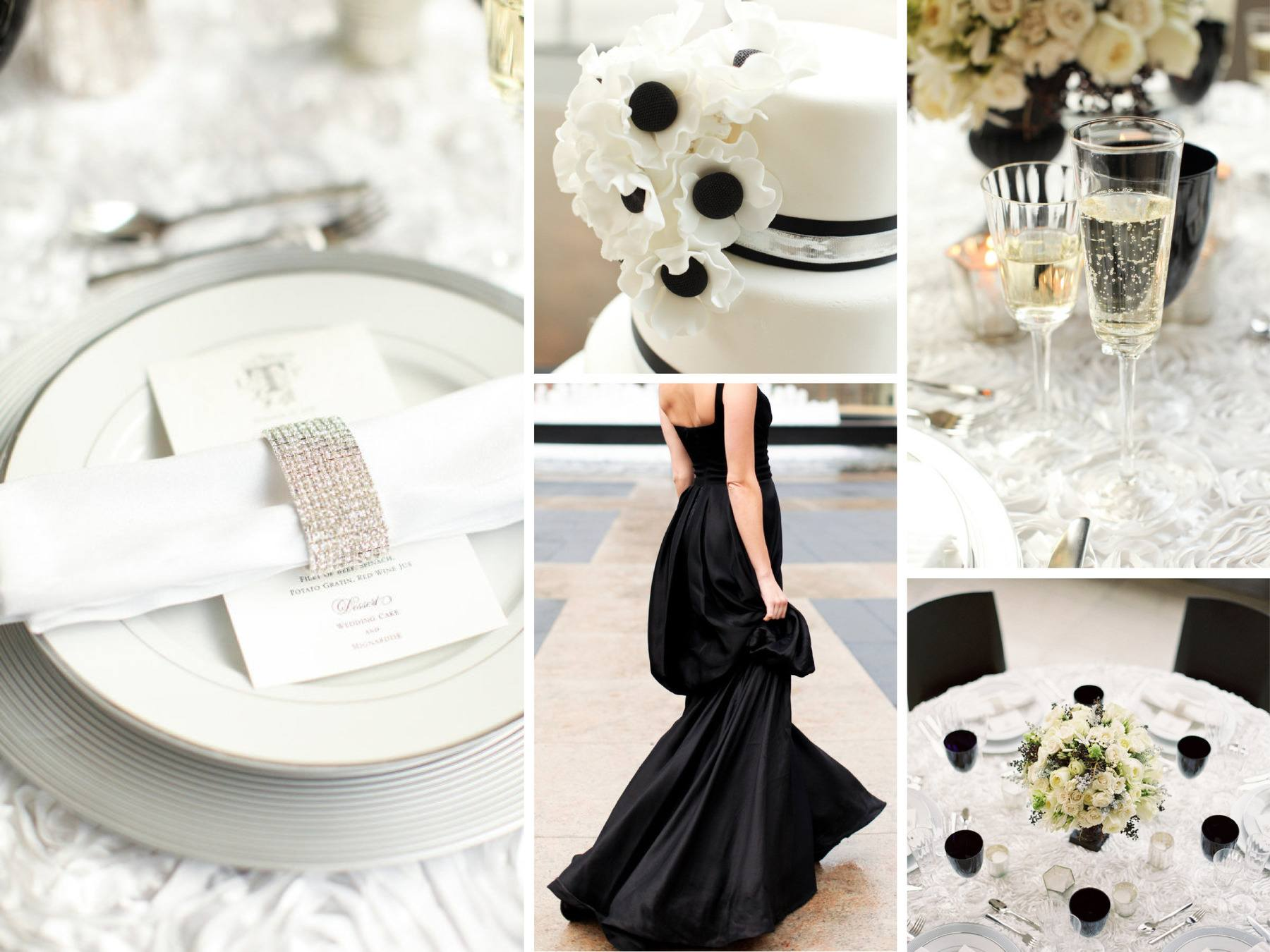 Black white winter wedding at lincoln center n age designs - Adorable iconic furniture design adapts black and white color ...