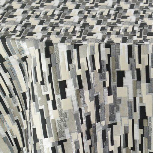 black-reversible-metallic-maze-linen