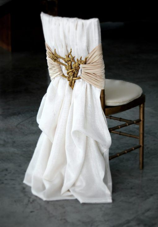 gold blossom interlace