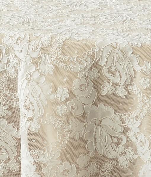 White Vintage Lace 3